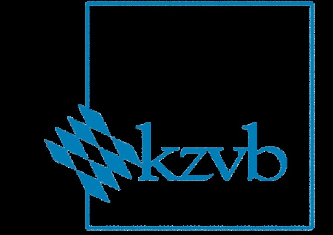 Das Bild zeigt das Logo des kzvb