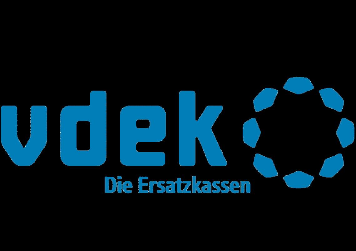 Das Bild zeigt das Logo der vdek - Die Ersatzkassen
