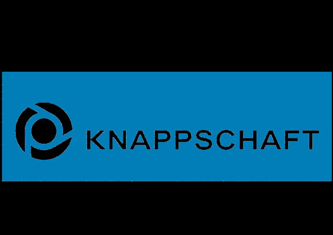 Das Bild zeigt das Logo der KNAPPSCHAFT